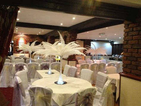 wedding venue decoration uk ostrich feather hire wedding decoration