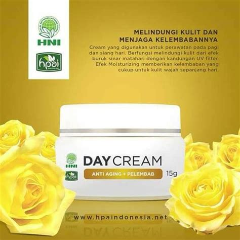 Hpai Herbal Wajah Day Ori jual new day hni hpai bpom original di lapak nayasha nayasha1