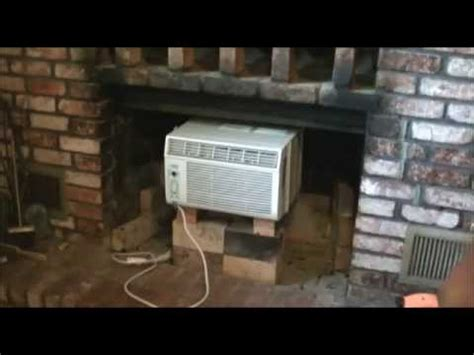 Fireplace Air Conditioner by Remove Fireplace Window Air Conditioner
