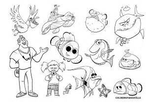 finding nemo coloring pages free coloring pages of bruce finding nemo