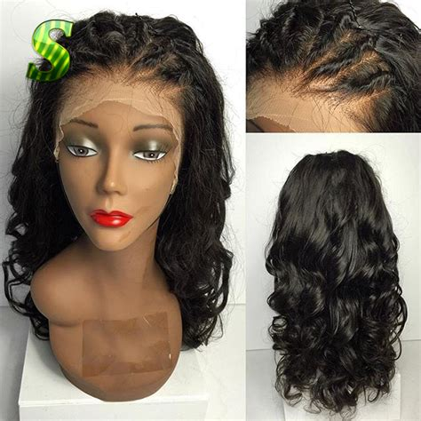 full lace wigs already in updo brazilian full lace wig with baby hair virgin hair body