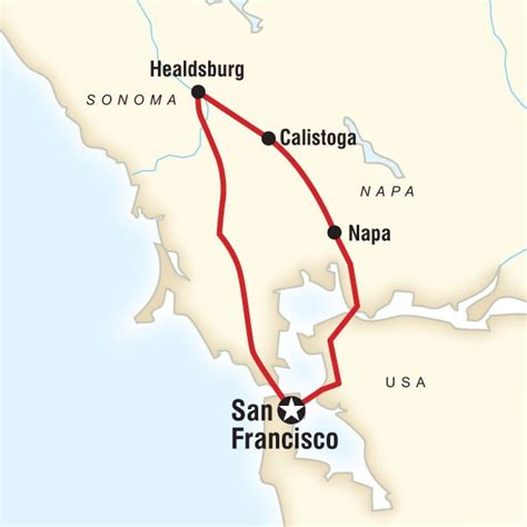 san francisco napa map 17 best images about napa winery s in california on
