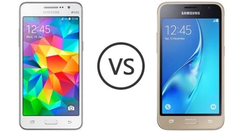 Samsung J1 Vs Grand Prime Samsung Galaxy Grand Prime Vs Samsung Galaxy J1 Mini 2016