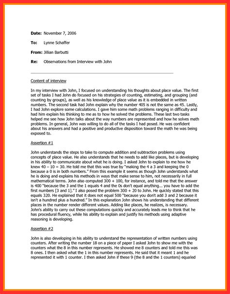 business memo format good resume format