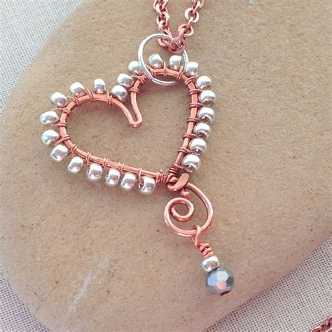 lisa yang s jewelry blog using copper embossing foil and 17 best ideas about beads for jewelry making on pinterest