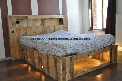 lit palettes l atelier d adri et pourquoi pas un lit bois de