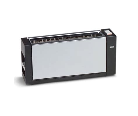 Toaster Braun Cooking With Taste Well Designed Household Appliances News