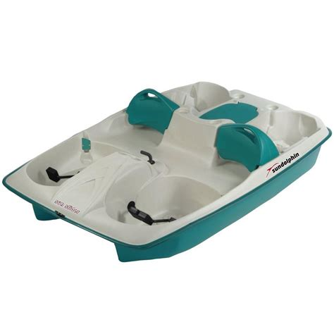 sun dolphin pedal boat reviews sun dolphin sun slider 5 person pedal boat 61143 the