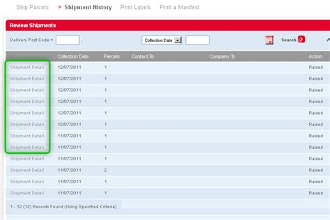 html tutorial review dpd uk review shipment history
