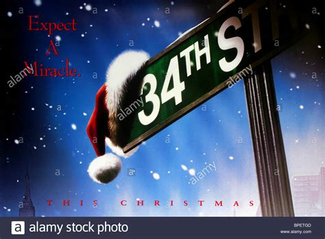 Miracle On Free Poster Miracle On 34th 1994 Stock Photo Royalty Free Image 31059405 Alamy