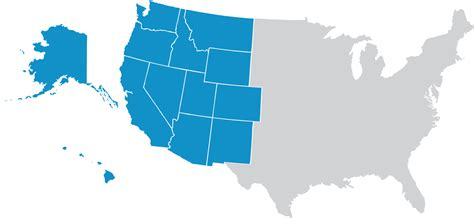 map of western us including hawaii map of western us including hawaii artmarketing me