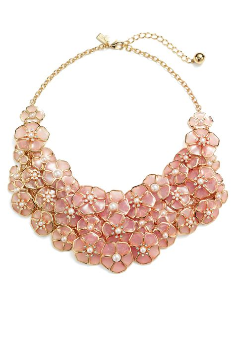 Statement Necklace sunset blossoms statement necklace by kate spade new york