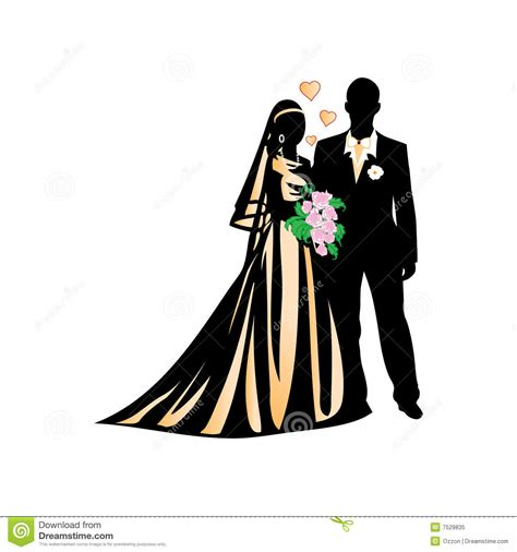 Wedding Illustration by Wedding Illustration Stock Vector Image Of
