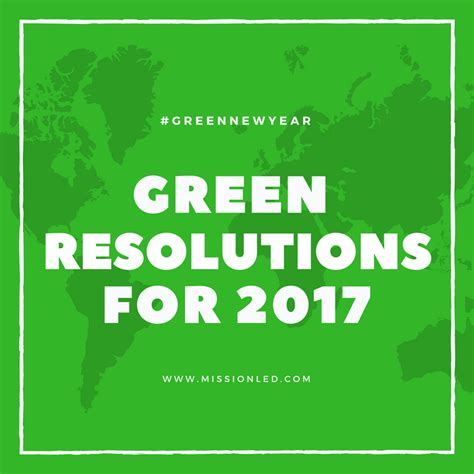simple new year resolutions 5 simple green new year resolutions for 2017 mission led