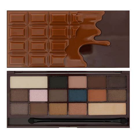 eye candies from hot chocolate design your next shoes makeup revolution i heart chocolate salted caramel
