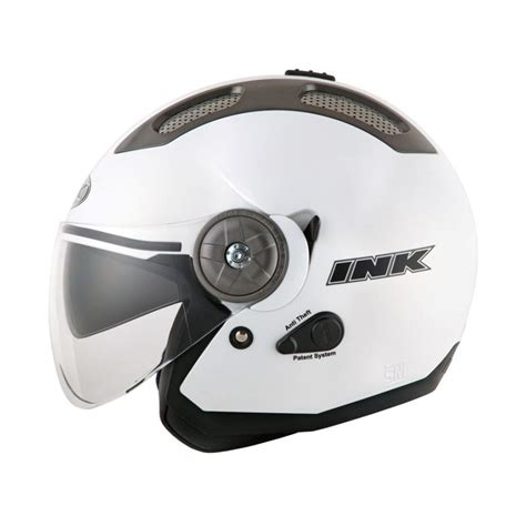 Helm Ink Gold Jual Ink Stillo Helm Open Solid White Pearl Gold