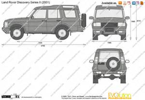 the blueprints vector drawing land rover discovery