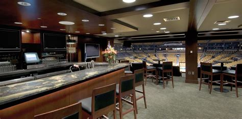 td garden box seats luxury suites at td garden renovation fit out