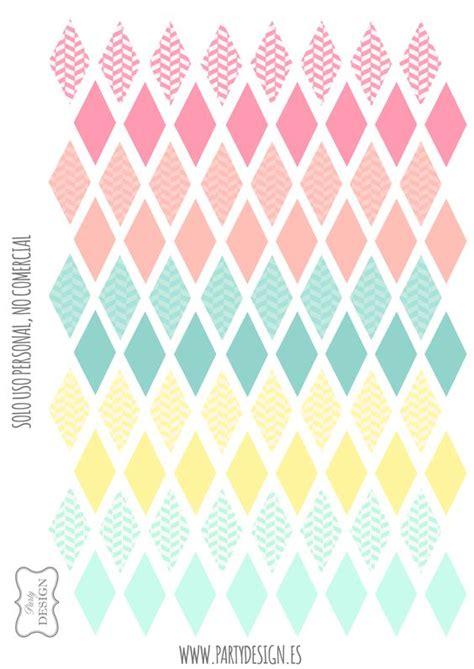 printable banner cake mini banderitas para decorar tartas y pasteles imprimibles