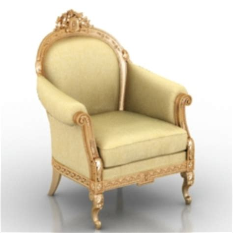 3d Archive Chair by European Royal Chair Free 3dmax Model Free No1815 Zip 123free3dmodels