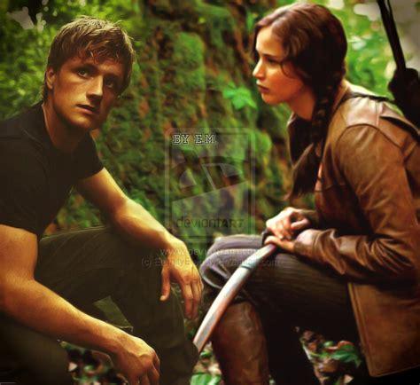 katniss and peeta the hunger games movie fan art 24646069 fanpop