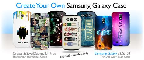 design your own samsung galaxy case create custom galaxy