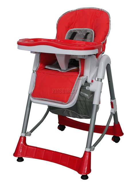 recline high chair foldable red baby high chair recline highchair height