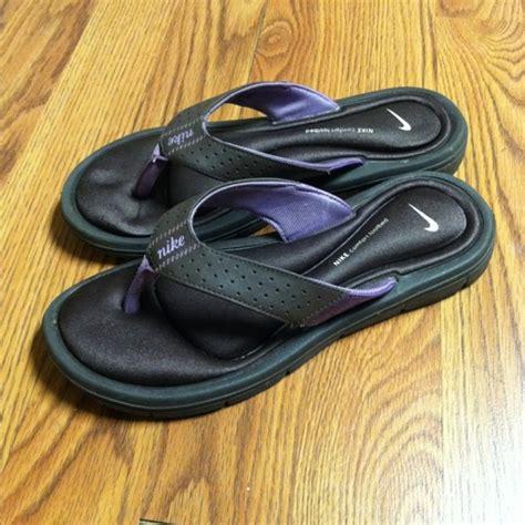 nike comfort footbed flip flops free nike comfort footbed super cushy comfy flip flops