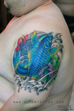 red koi tattoo vaughan koi fish tattoo 67 carpas pinterest oberarm tattoo