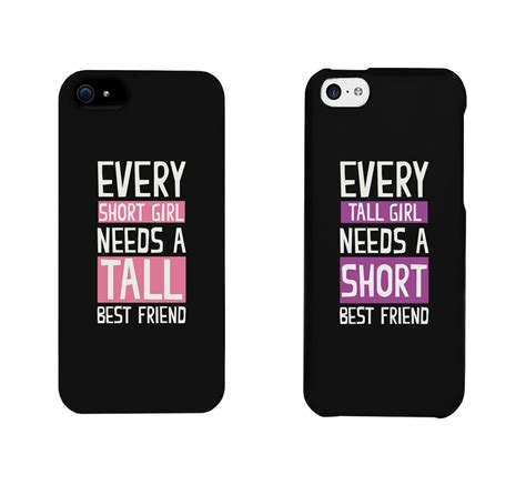 Primark Duvet Cover Amazon Com Bff Phone Cases Tall And Short Best Friend