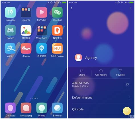 Themes Mi Note 3 | xiaomi mi 6 official theme for miui8 xiaomi redmi note 4