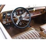 1971 Hurst Olds 442 Interior