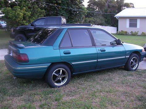 1995 mercury tracer sedan specifications pictures prices