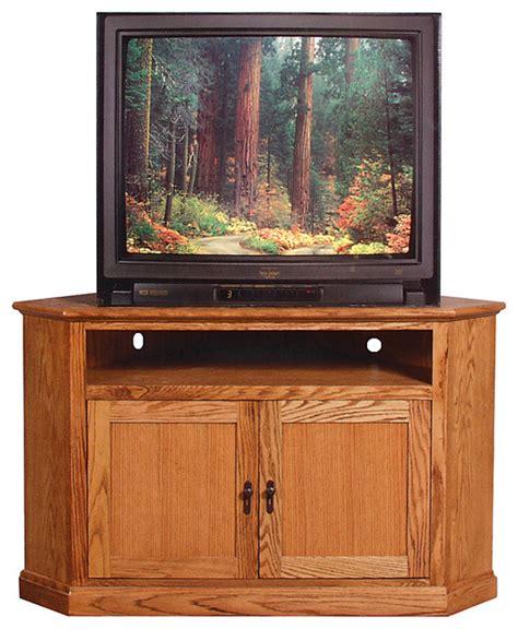 Craftsman Media Cabinet by Mission Large Corner Tv Stand Unfinished Alder Craftsman