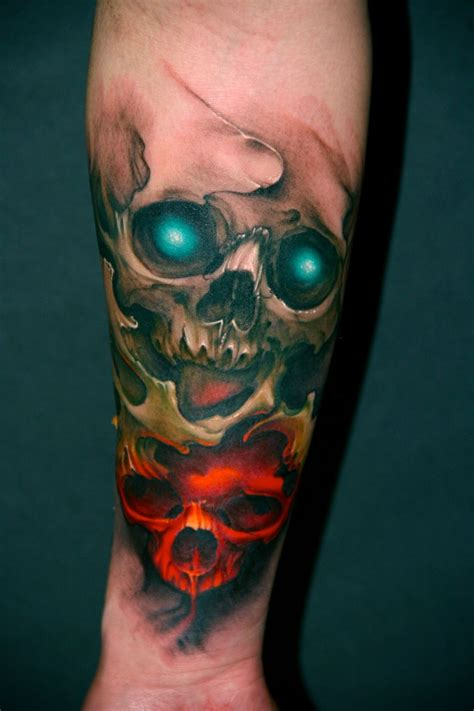 colorful skull tattoo designs skull tattoos designs ideas and meaning tattoos for you