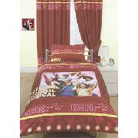 high school musical curtains duvet kids duvet cover bedlinen set duvet and pillow