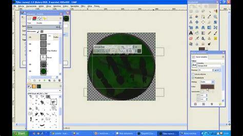 tutorial photoshop jak zrobic logo jak zrobić okrągłe logo w gimp tutorial youtube