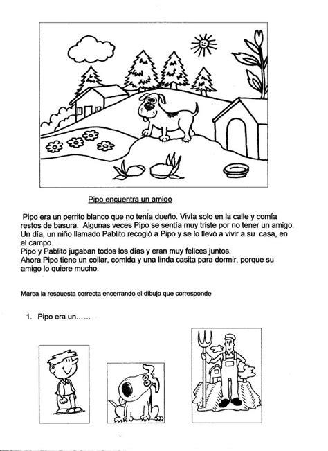 lectura para ninos de kinder en espanol cuentos breves y fichas para ejercitar la comprensi 243 n de