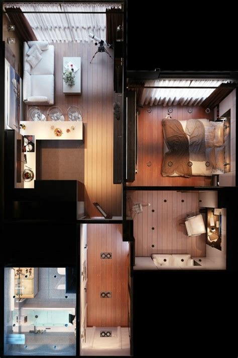 About square meter on pinterest square feet small apartment design