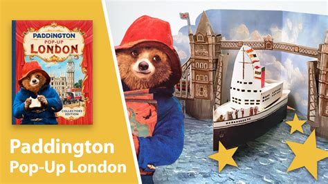 0008254524 paddington pop up london paddington pop up london based on the book from paddington 2