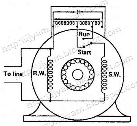 capacitor value schematic electrical circuit schematic diagram of two value capacitor motor technovation