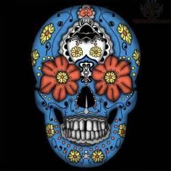 color sugar skull tattoos wesharepics