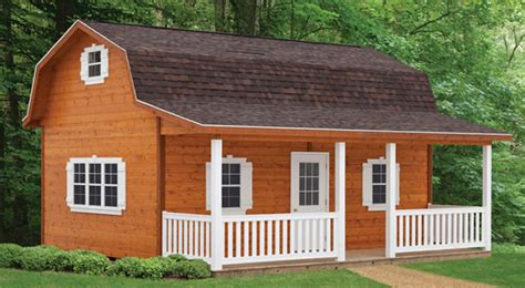 gambrel cabin plans 12x16 barn shed with porch plans