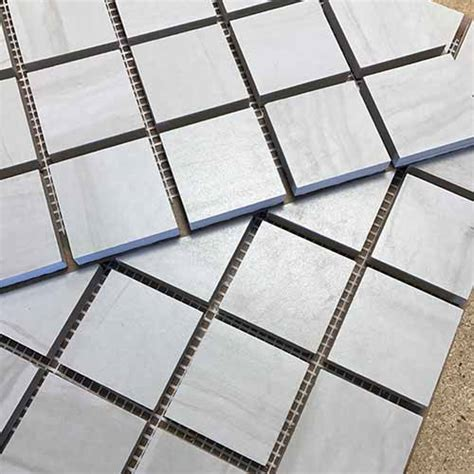 mosaic hatch pattern mesh mounted mosaics for every tile american bullnose