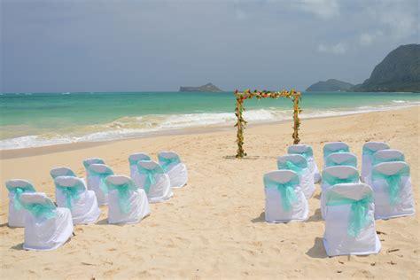 Wedding Arch Oahu by Waimanalo Bridal Hawaii