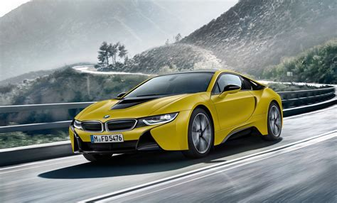 2018 bmw i8 to get power boost i8 spyder to debut early