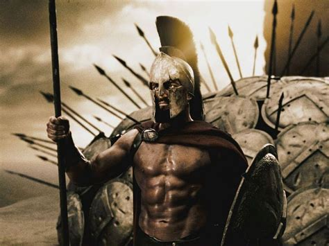 Helm Eroe King Leonidas In 300 The And Mind