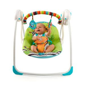 bright starts biscotti baby portable swing bright starts zoo tails portable swing ebay