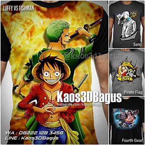 Kaos Tengkorak One kaos one kaos anime kaos luffy kaos 3d bagus