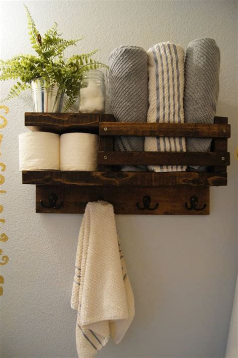 The 25 Best Ideas About Towel Racks On Pinterest Towel Bathroom Towel Storage Rack